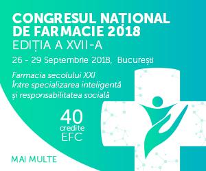 Participanţi din 10 ţări la Congresul Naţional de Farmacie