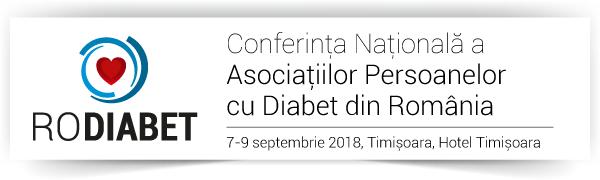 Conferința RoDiabet: Conferința Națională a Asociațiilor Persoanelor cu Diabet din România