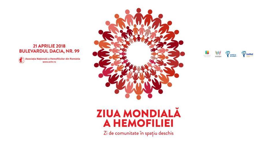 Ziua Mondială a Hemofiliei – Zi de comunitate în spațiu deschis