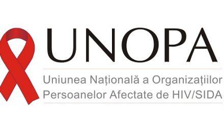 Servicii de suport pentru pacienţii cu HIV oferite de UNOPA în contextul Covid-19