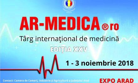 Expoziția AR-MEDICA: 1-3 noiembrie, EXPO Arad