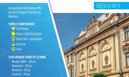 Specialişti în cardiologie, nutriţie, ginecologie şi geriatrie, la Conferinţa regională a medicilor de familie de la Brăila