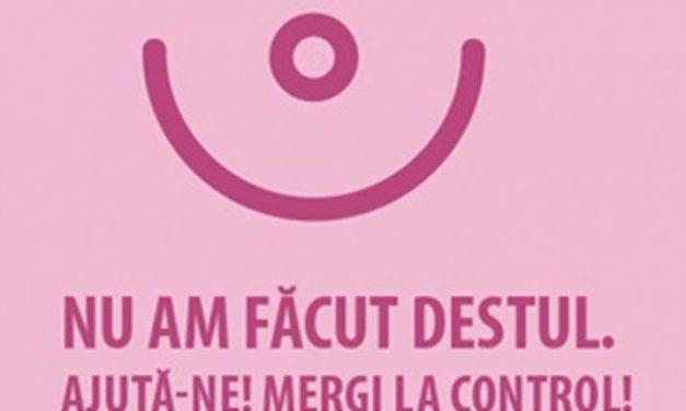 A demarat a cincea ediție a campaniei de depistare a cancerului de sân