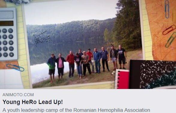 Young HeRo Lead Up: o inițiativă a Asociației Române de Hemofilie