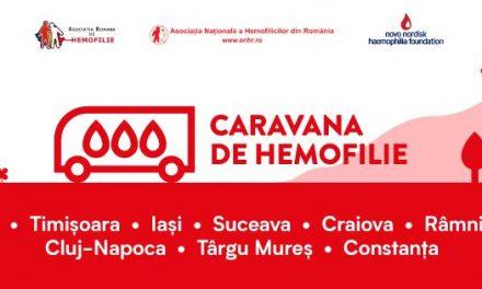 Caravana de Hemofilie oprește la început de martie la Râmnicu Vâlcea și Craiova