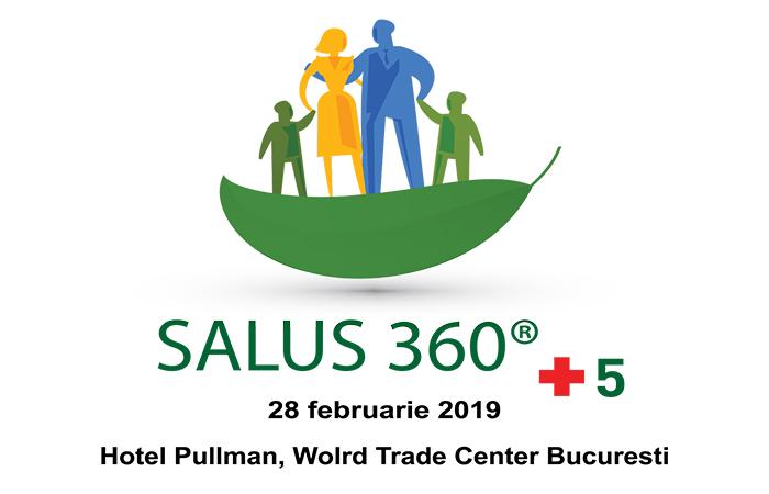 """Conferința """"Salus 360 + 5"""": 28 februarie, Hotel Pullman, World Trade Center"""