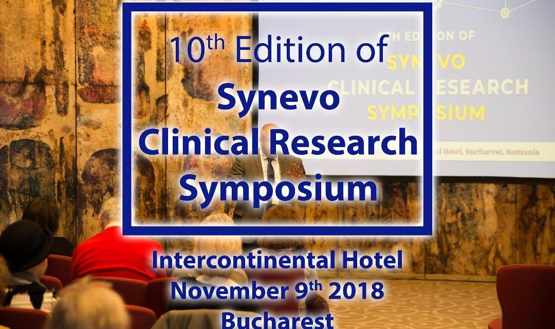 De zece ani, Simpozionul de Studii Clinice Synevo aduce ultimele noutăţi specialiştilor în cercetare clinică pentru domeniile farmaceutic şi de biotehnologie medicală