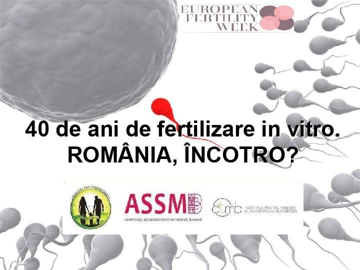 """Dezbaterea """"40 de ani de fertilizare in vitro. România, încotro?"""" (VIDEO)"""