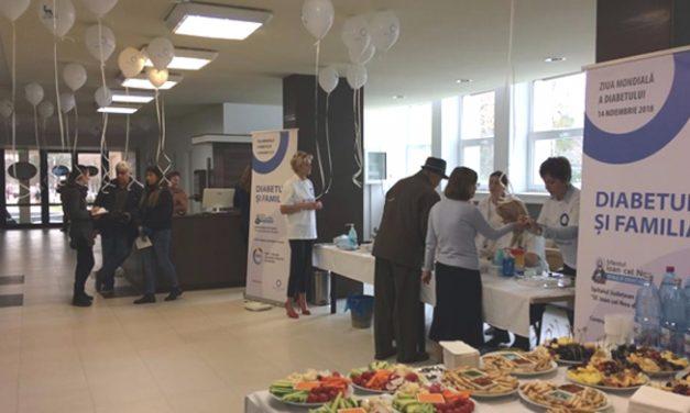 """386 suceveni s-au testat gratuit la Spitalul Județean de Urgență """"Sf. Ioan cel Nou"""" în cadrul campaniei dedicate Zilei Mondiale a Diabetului"""