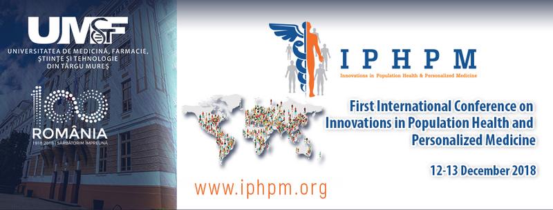 Prima conferinţă internaţională din Sud-Estul Europei de medicină personalizată, cu ocazia zilelor UMFST Târgu Mureş