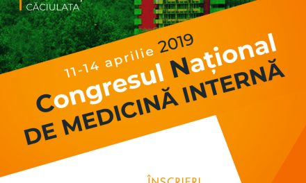 Congresul Naţional de Medicină Internă: Călimăneşti – Căciulata, 11-14 aprilie 2019