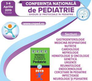 Conferinta Nationala de Pediatrie 2019: Bucuresti, 3-6 aprilie