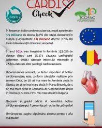 Campanie de informare despre afecțiunile cardiovasculare