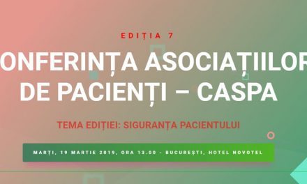 Ultimele zile de înscriere la cea de-a 7- a ediție a Conferinței Naționale de Management Modern al Asociațiilor de Pacienți