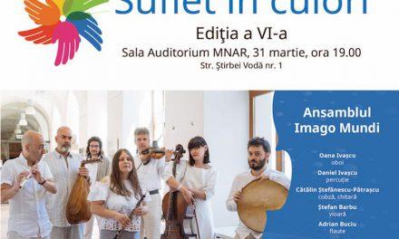 """""""Suflet în culori"""" – concert Imago Mundi în beneficiul copiilor cu autism"""