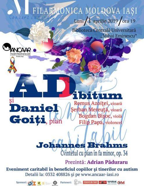 Eveniment caritabil în beneficiul tinerilor și copiilor cu autism