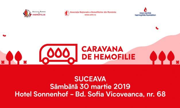 Caravana de Hemofilie ajunge la sfârșit de martie în Moldova, la Suceava și Iași