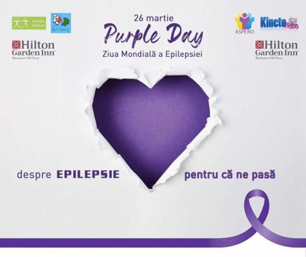 Asociația Pacienților cu Epilepsie din România – ASPERO a marca Ziua Mondială a Epilepsiei – Purple Day