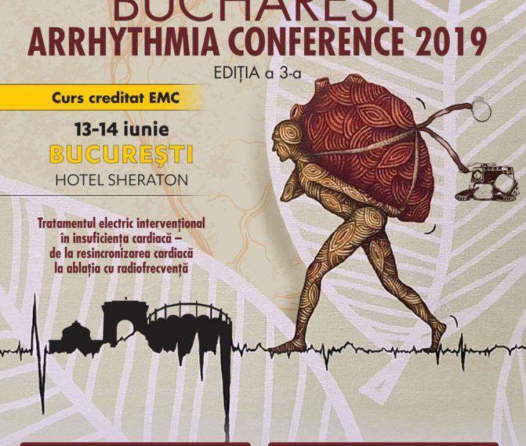 Bucharest Arrhythmia Conference 2019: 13-14 iunie, București