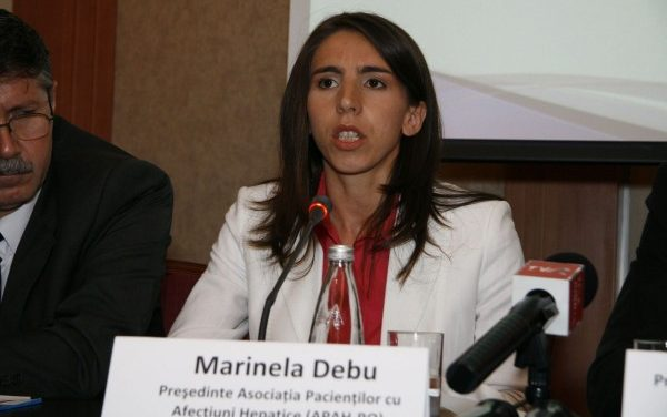 Marinela Debu (APAH-RO): Pacienţii cu hepatite virale au nevoie de suport; accesibilitatea spre spitale e încă redusă