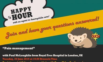 """Alăturați-vă campaniei """"Happy 1/2 Hour""""cu un expert în hemofilie înainte de vacanța de vară!"""
