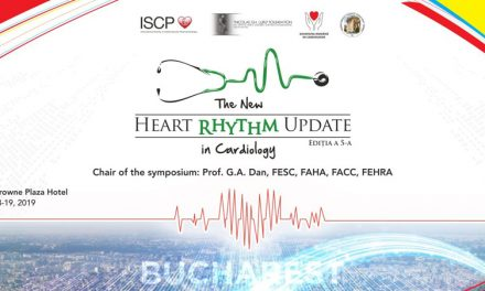 Simpozionul Internaţional Heart Rhythm Update – The New Rhythm in Cardiology: 18-19 octombrie, București