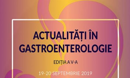 """Actualitati in gastroenterologie"": 19-20 septembrie, Bucuresti"
