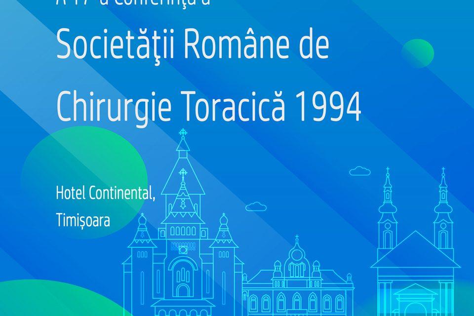 Conferința Societății Române de Chirurgie Toracică: 26-28 septembrie, Timișoara