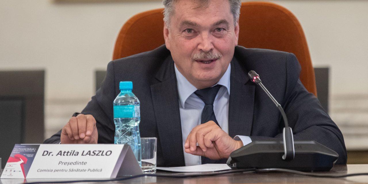 Laszlo Attila, Președintele Comisiei de Sănătate din Senat: Există o evoluție spectaculoasă, dar insuficientă, în ceea ce privește prevenția