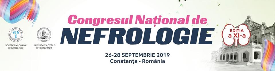 Congresul Național de Nefrologie: 26-28 septembrie, Constanța