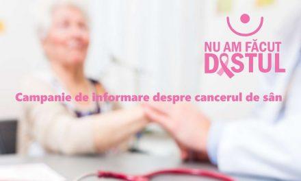 """Testări gratuite pentru depistarea cancerului de sân – Caravana """"Nu am făcut destul"""" vine în Timiș, Hunedoara, Arad, Satu Mare și Bihor"""