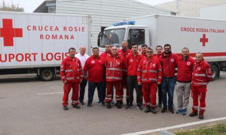 Crucea Roşie Italiană a donat Crucii Roşii Române peste 90.000 de dispozitive pentru protezarea stomiilor