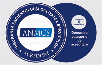 ANMCS aduce clarificări legate de afișarea însemnelor acreditării pentru unitățile sanitare