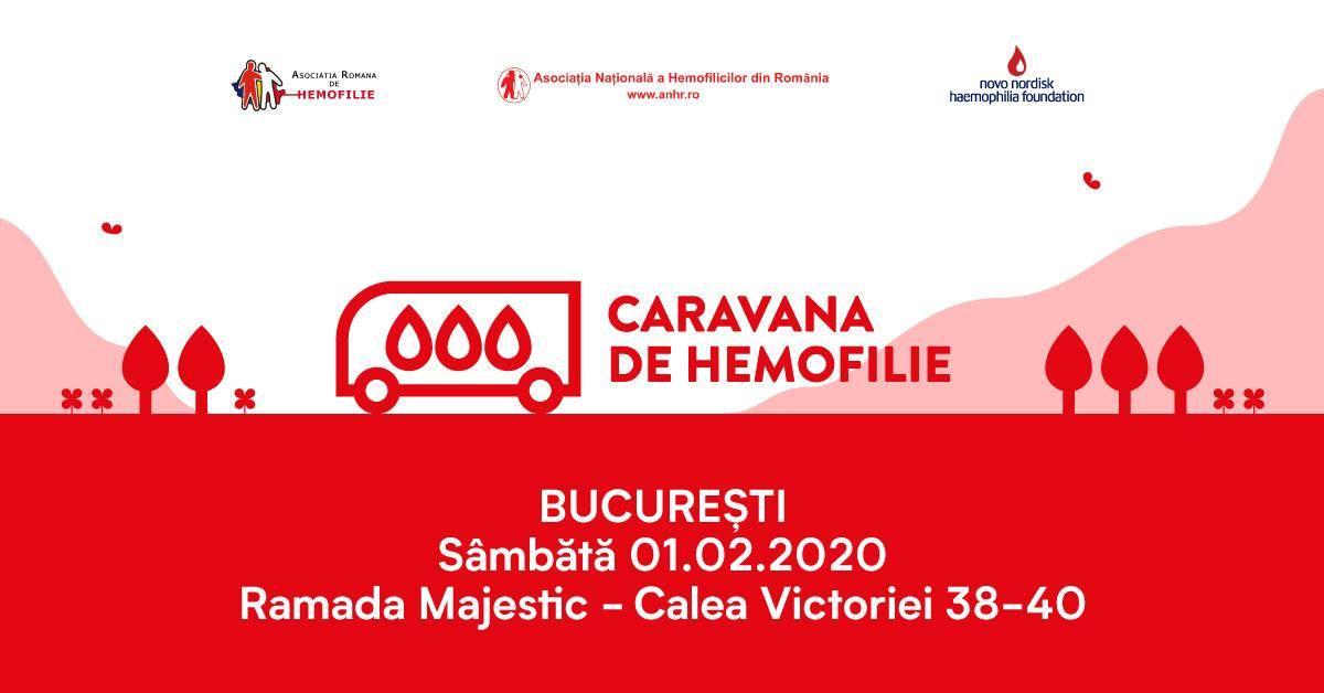 O nouă ediție a Caravanei de Hemofilie, pe 1 februarie, în București