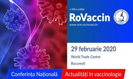 Conferința Națională RoVaccin: 29 februarie, București