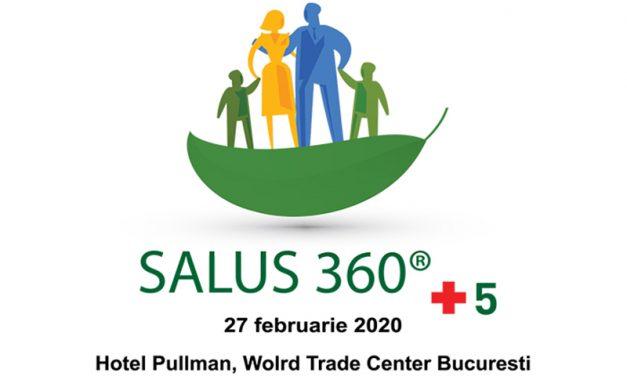 """Conferința """"Salus 360 + 5"""" cu tema """"Sănătate 2020"""": București, 27 februarie"""