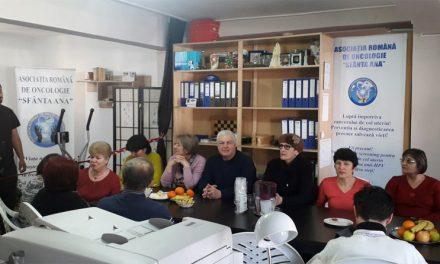 """Asociația Română de Oncologie """"Sfânta Ana"""" este implicată în noi acțiuni și manifestări dedicate pacienților"""