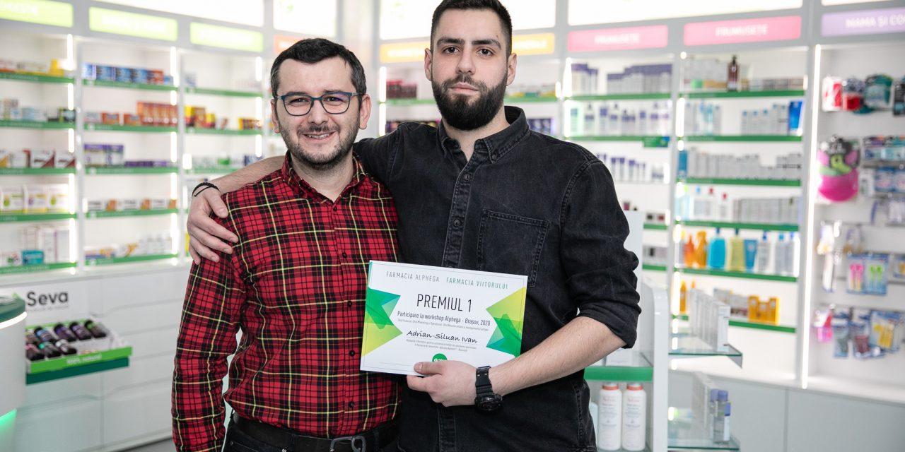 Adrian-Siluan Ivan, câștigătorul locului întâi al Competiției Farmacia Viitorului: Proiectul Farmacia Viitorului vine în sprijinul studenților și tinerilor farmaciști