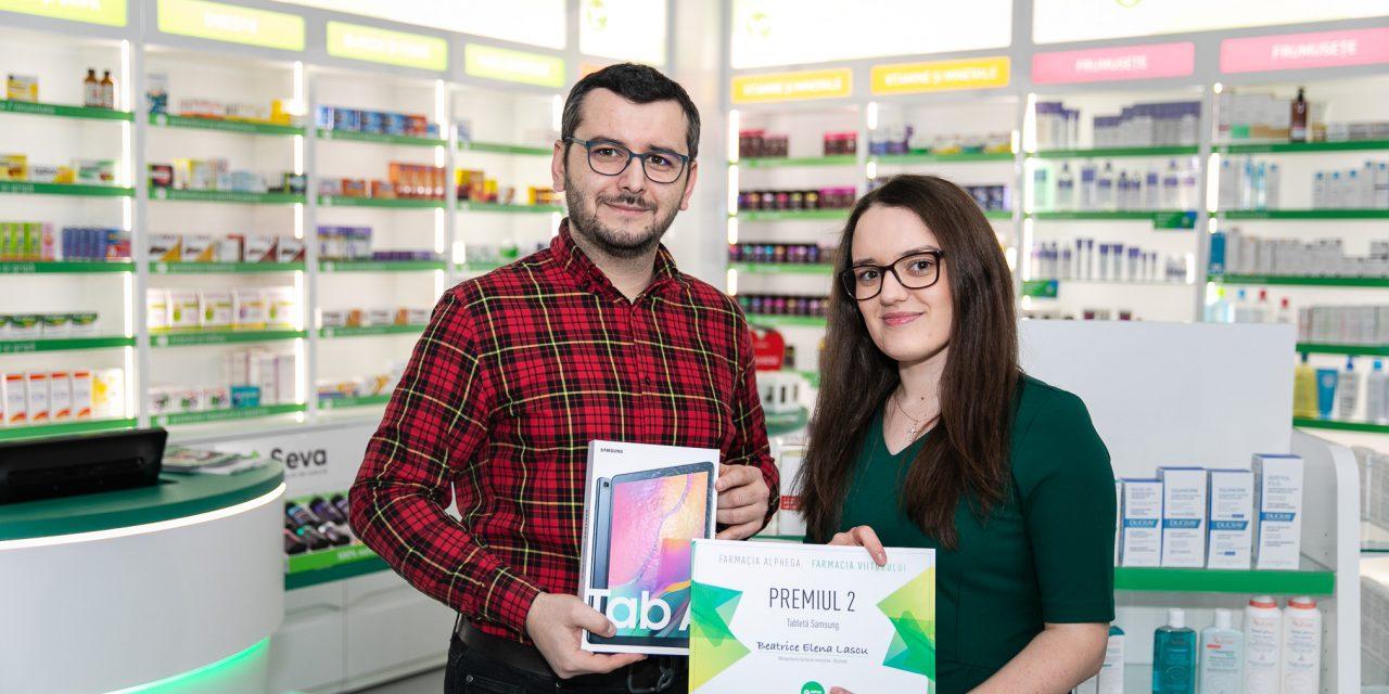 Beatrice Elena Lascu, ocupanta locului doi al Competitiei Farmacia Viitorului: Cred că ar trebui să meargă mai departe acest proiect pentru a profita și alți colegi de el