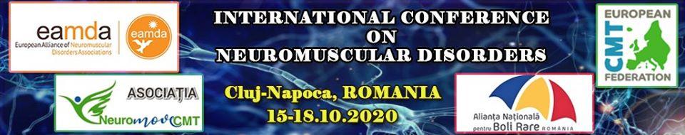 Conferință Internațională de Boli Neuromusculare, 15-18 octombrie 2020, Cluj-Napoca