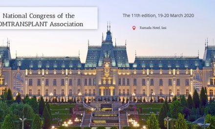 Congresul Național al Asociației ROMTRANSPLANT, ediția a XI-a: 19 – 20 martie, Iași