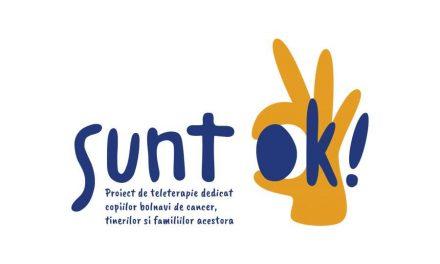 Platforma de teleterapie Sunt OK! este disponibilă pentru tinerii afectați de cancer