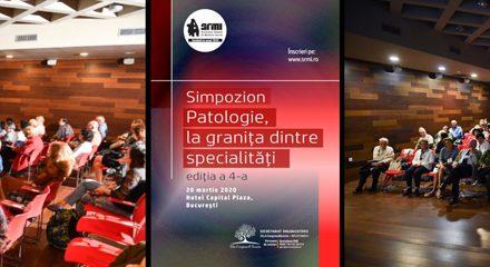 """Simpozionul """"Patologie la granița între specialități"""": 20 martie, București"""