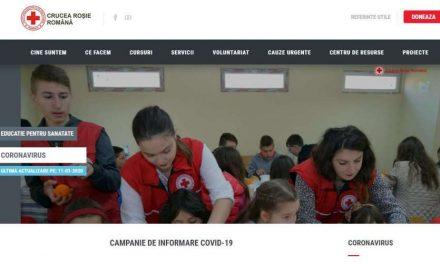 """ARPIM susține Crucea Roşie Română în """"Campania de informare și prevenție CORONAVIRUS"""" prin donații pentru materiale sanitare și de igienă"""