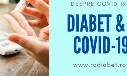 Pacientul cu diabet zaharat şi infecţia cu COVID-19