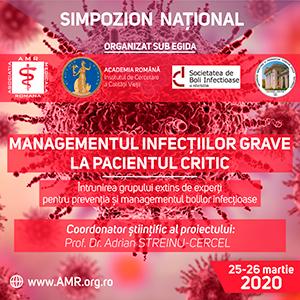 """Simpozionul """"Managementul infecțiilor grave la pacientul critic"""": 25 – 26 martie, București"""