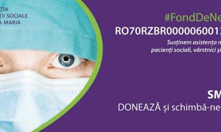Fundația Inovații Sociale Regina Maria a deschis un Fond de Necesitate pentru a ajuta sistemul medical în lupta cu Covid-19