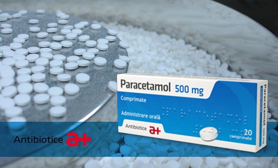 Compania Antibiotice a reluat producția de paracetamol și de algocalmin