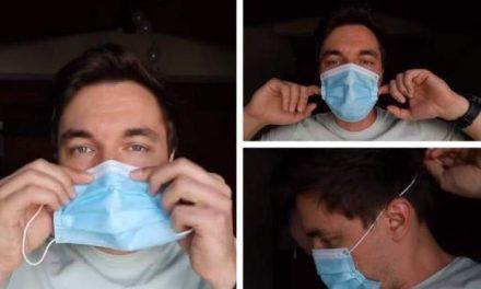Dr. Mihail Pautov: Cum se poartă corect masca de protecție, pentru a respira fără probleme
