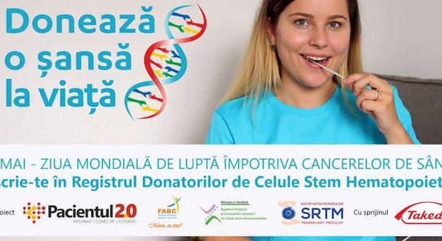 28 mai, Ziua Mondială de Luptă împotriva Cancerelor de Sânge